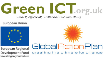 Green ICT, European Regional Development Fund & Global Action Plan