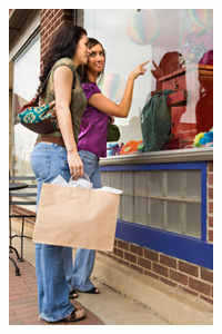 Shopping discounts for the unemployed
