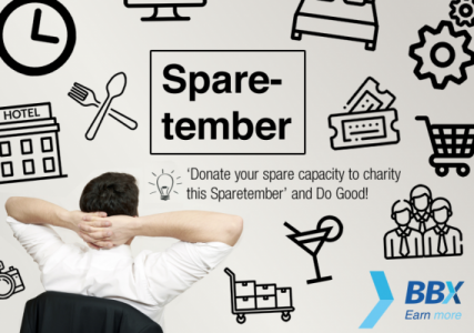 Sparetember! Charitable donations without breaking the bank