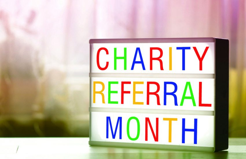 October is ORB's Charity Referral month raising funds for FareShare