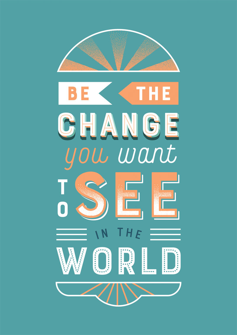 Small businesses need to be the change they would like to see in the world