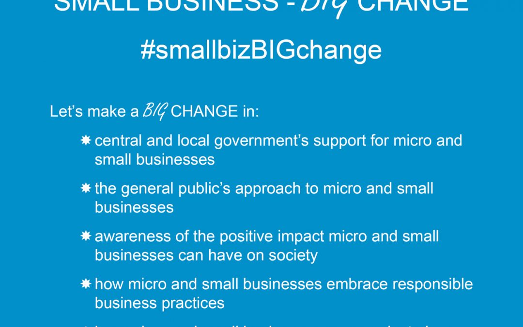 Small Business – BIG Change
