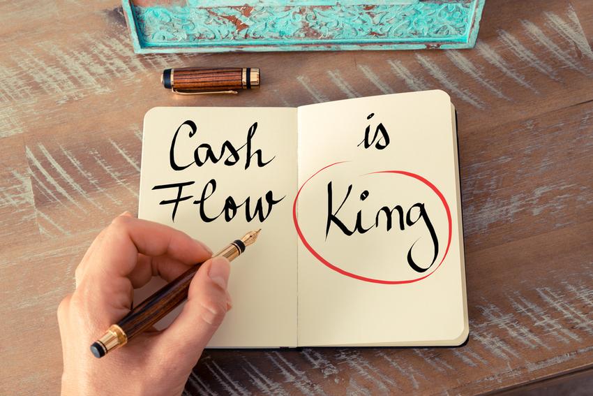 Cash flow is important to business survival